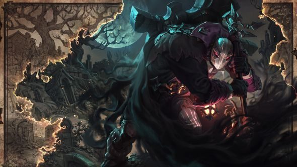 Yorick rework splash art