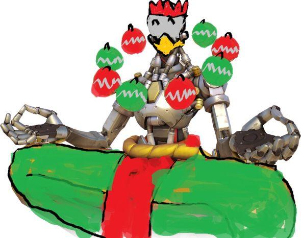Winston Christmas Skin.Overwatch S Winter Wonderland Update All The Christmas