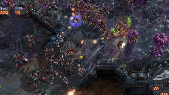 StarCraft 2 test map latest: changes to the Overseer, Viper